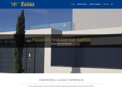Ficons Áurea – Web design and development